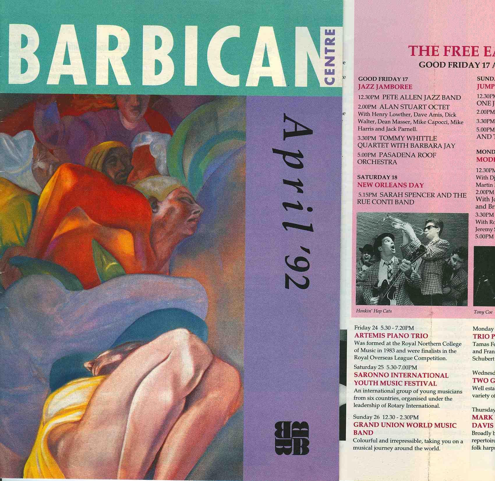 Barbican London 1992