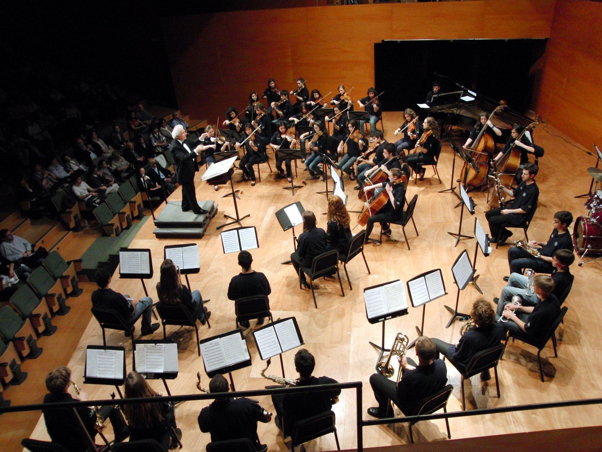 Ernesto Leo cincerto in Conservatorio di Palma de Mallorca
