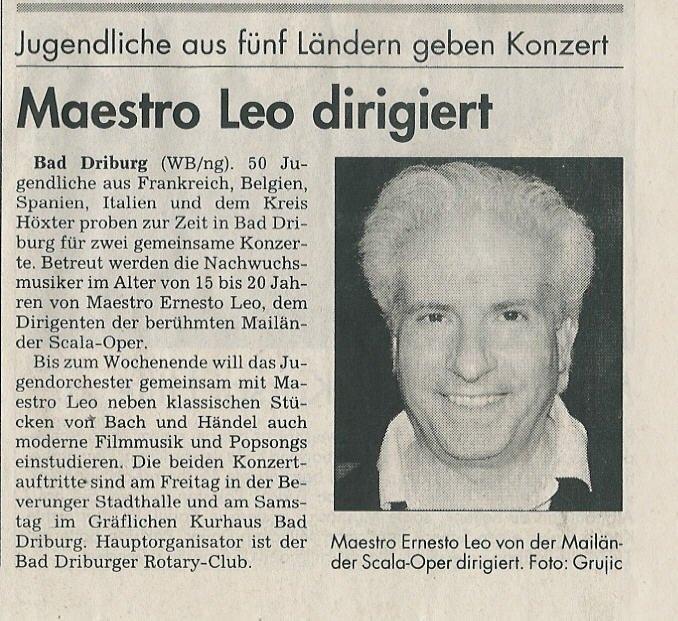 Westfalen Blatt 2002