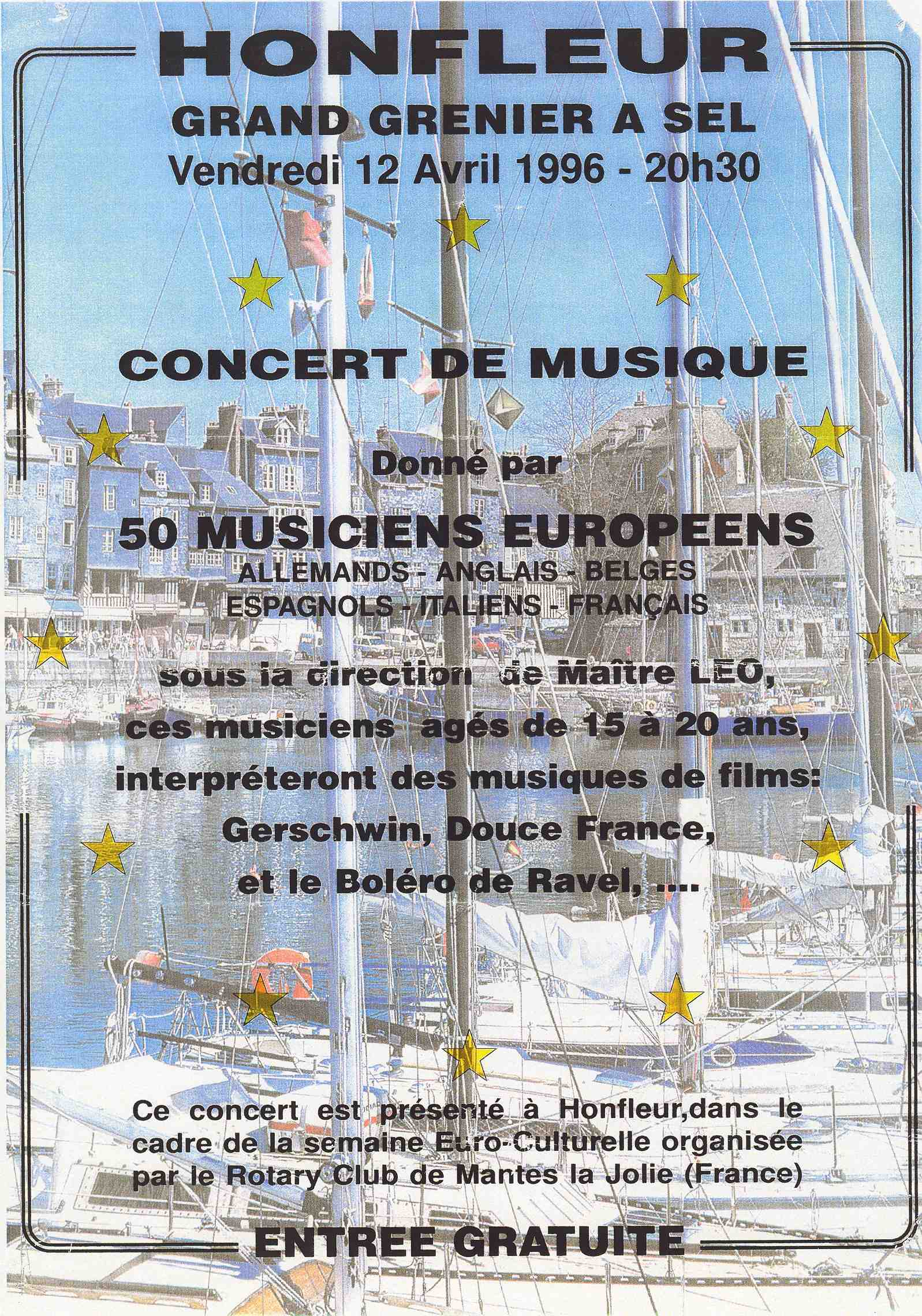 concerto 1996 Honfleur (F)